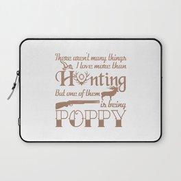 Hunting Poppy Laptop Sleeve