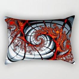 Fractal Art - Burning Web Rectangular Pillow