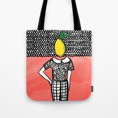Lemon Head Tote Bag