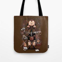 Iron gentleman Tote Bag