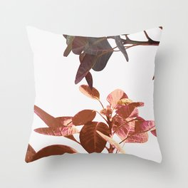 Leaves Spring Nature Throw Pillow