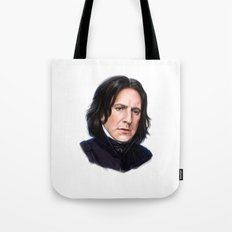 Sad Snape Tote Bag