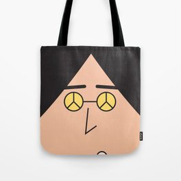 Hexagon Poster Tote Bag