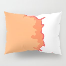 Splat on White - by Friztin Pillow Sham