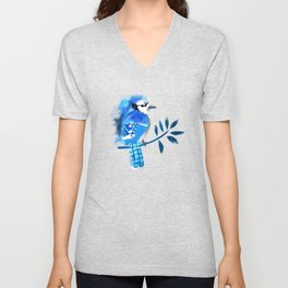 Blue wonder Unisex V-Neck