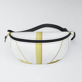 Gold Scales of Justice Lawyers Hotline Fanny Pack