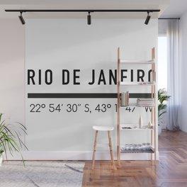 Rio de Janeiro Wall Mural