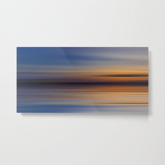 Blue Lake II Metal Print