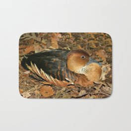 Fulvous Whistling Duck Bath Mat