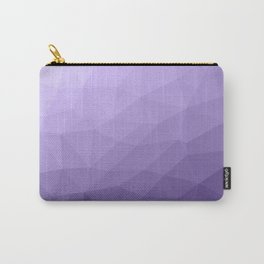 Ultra violet purple geometric mesh pattern Carry-All Pouch