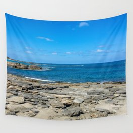Seascape stones Wall Tapestry