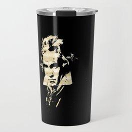 Beethoven - German Composer Travel Mug