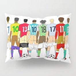 Soccer Butts Pillow Sham