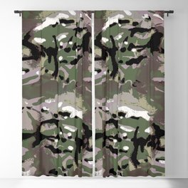 Camo Camo, and the art of disappearing. Blackout Curtain