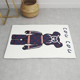 GG Bear Rug