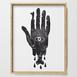Creepy Hand Serving Tray