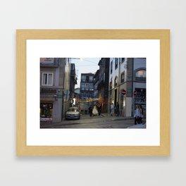 Bride-Groom Framed Art Print