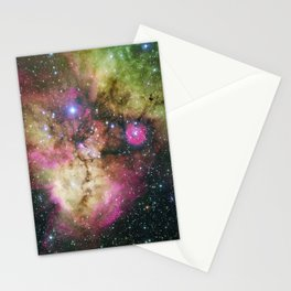 Galaxy NGC 2467 Stationery Cards