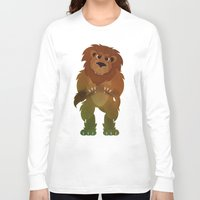 oz Long Sleeve T-shirts featuring OZ - Lion by Drybom