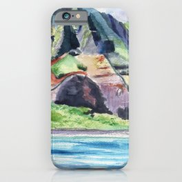 Majestic Na Pali Coast iPhone Case