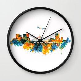 Winnipeg Skyline Wall Clock