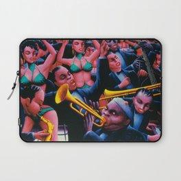 That Hot Jazz Rhythm by Archibald Motley Laptop Sleeve