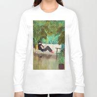 jungle Long Sleeve T-shirts featuring jungle by Lara Paulussen