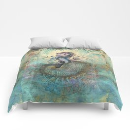 The Seahorse Diary Comforters
