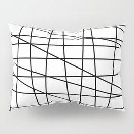 Gossamer. Black and white.2 Pillow Sham