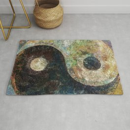 Yin and Yang Rug