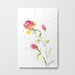 Baby roses Metal Print