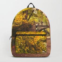 Autumn Path - Central Park - New York City Backpack