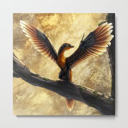 Archaeopteryx Lithographica Commission Metal Print