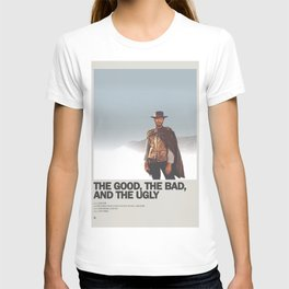 The Good, the Bad, and the Ugly Minimal Movie Poster No 02 T-shirt