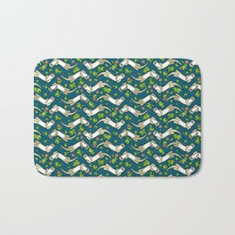 Otter and Water Lily Bath Mat