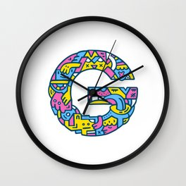 Grateful Greg Wall Clock