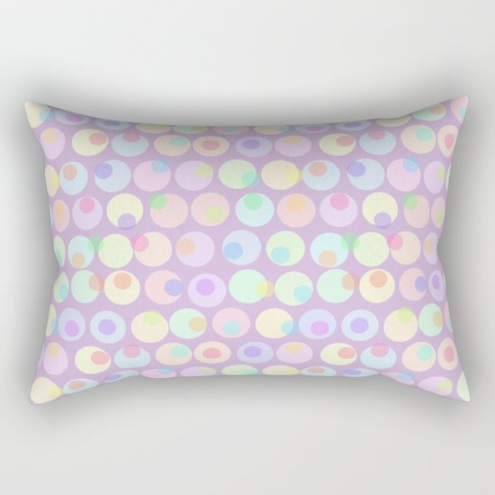 Pastel Abstracts 1 Rectangular Pillow