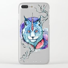 Lynx Clear iPhone Case