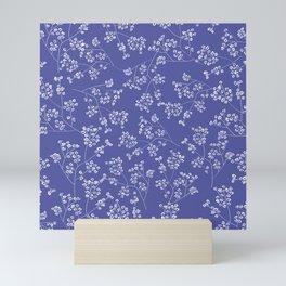 Gisophila blue Mini Art Print