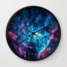 Shy Radiant Galaxy Wall Clock