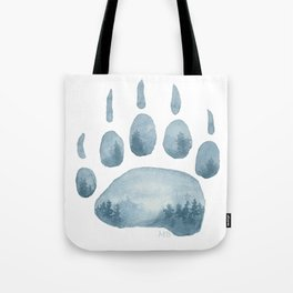 Misty Mountain Hop Tote Bag