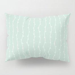 Willow Stripes - Sea Foam Green Pillow Sham