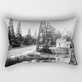 Los Angeles, Toluca Street, ca.1895-1901 Rectangular Pillow