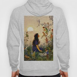 """Vintage Fairies' by Margaret Tarrant Hoody"