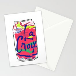 passionfruit La Croix or death Stationery Cards
