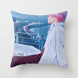 One's Gaze Throw Pillow