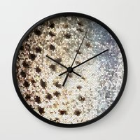 trout Wall Clocks featuring Trout Scales by Mister Groom
