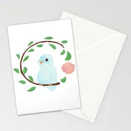 Flower Birb Stationery Cards