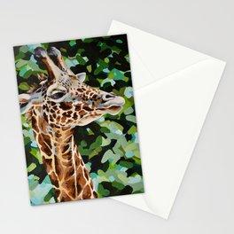 Masai Giraffe Stationery Cards
