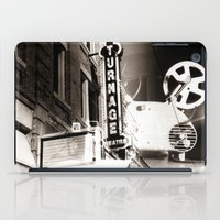 theater iPad Cases featuring Turnage Theater by Justin Alan Casey